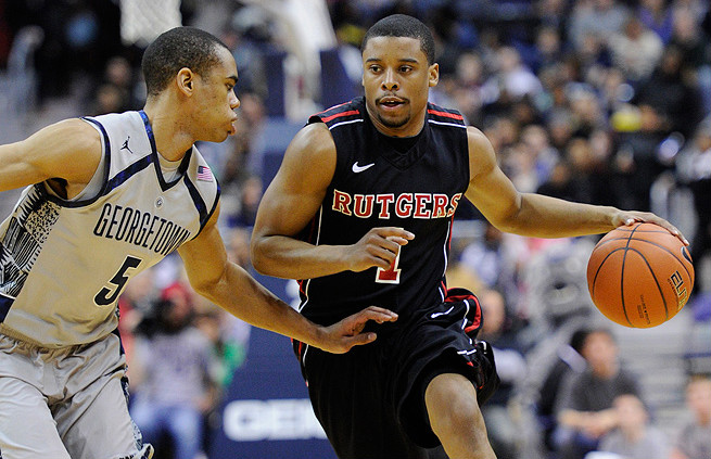 Guard Jerome Seagears averaged 6.5 points and 2.6 assists last season at Rutgers.
