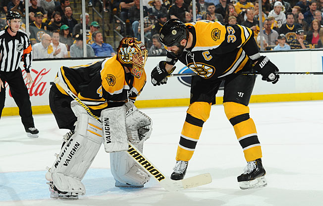 Boston's Tuukka Rask and Zdeno Chara anchor a stout defense that's been deadly on the penalty kill.