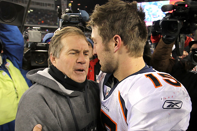 Bill Belichick recently disputed a report that he 'hated' Tim Tebow as a football player.