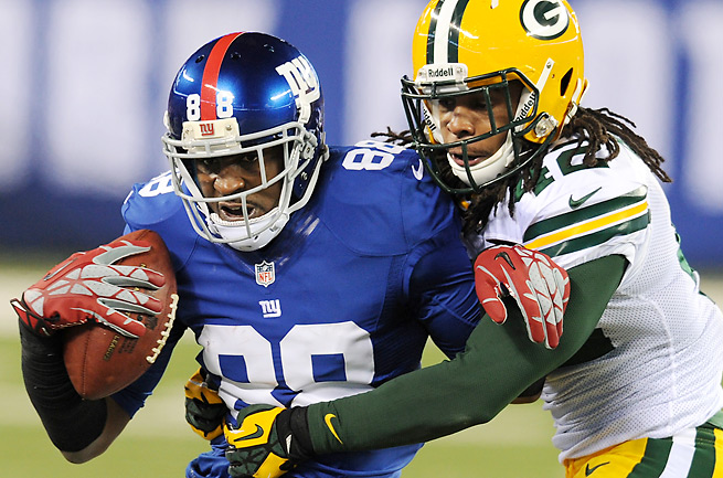 Hakeem Nicks caught a career low 692 yards in an injury-plagued 2012 season.