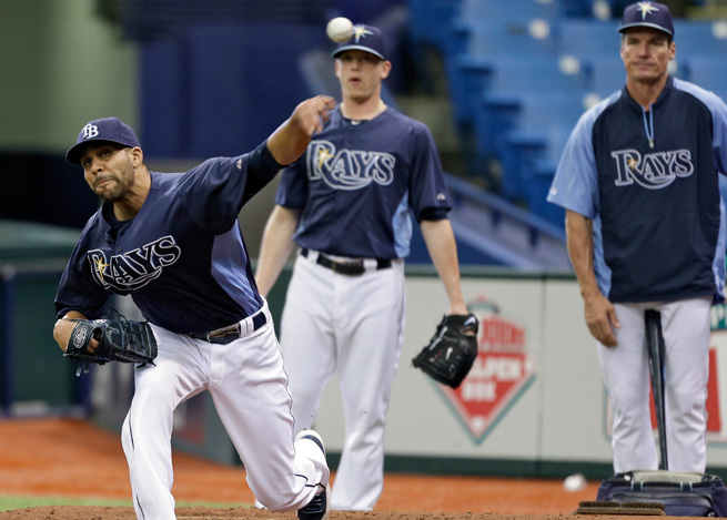 Rays' ace David Price has struggled this season, but should return to the rotation by the end of June.