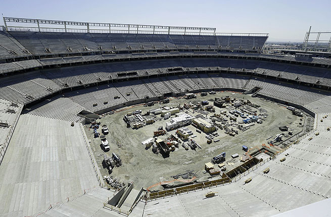 The $1.2 billion Levi's Stadium will replace Candlestick Park as the home of the San Francisco 49ers.