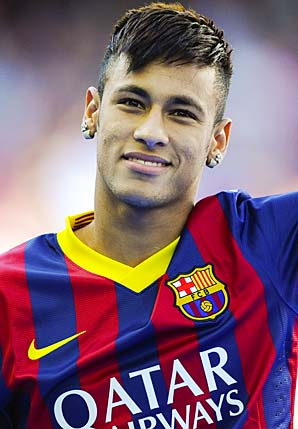 Neymar signed on June 3 with Barcelona, where he will play with Lionel Messi.