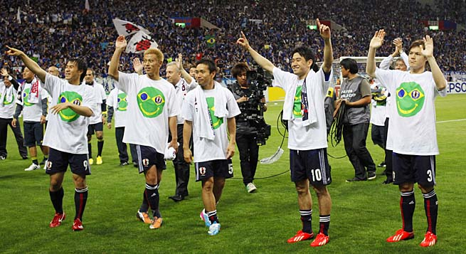 Japan became the first team qualify for the 2014 World Cup earlier this month.