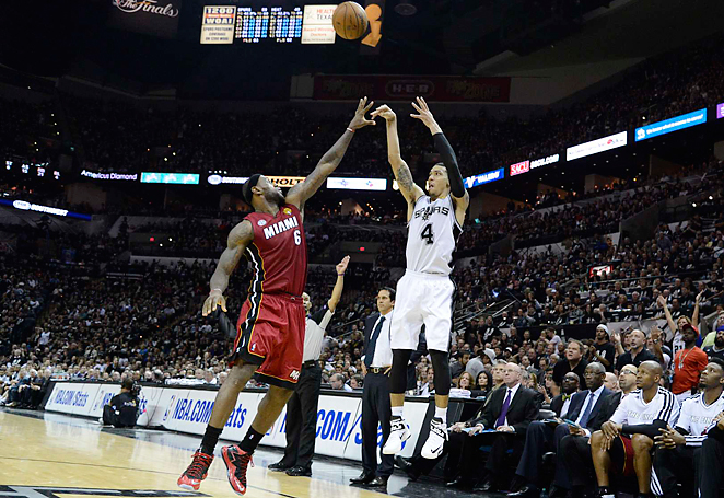 With seven three-pointers in Game 3, Danny Green became the leading scorer in the NBA Finals.