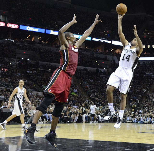 Gary Neal and Danny Green combined to score 51 points for the Spurs.