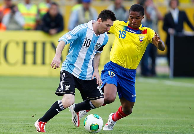 Lionel Messi has helped Argentina to the lead of CONMEBOL World Cup qualifying.