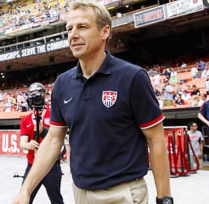 Can Jurgen Klinsmann replicate his World Cup success, leading Germany to third place in '06?