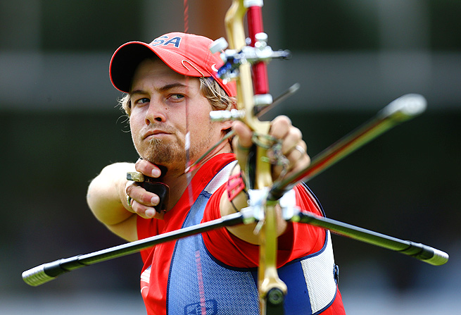 Top U.S. archer Brady Ellison won a silver medal in the team event at the London Olympics.