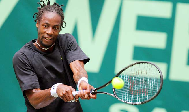 Gael Monfils was the Wimbledon boys champion in 2004.