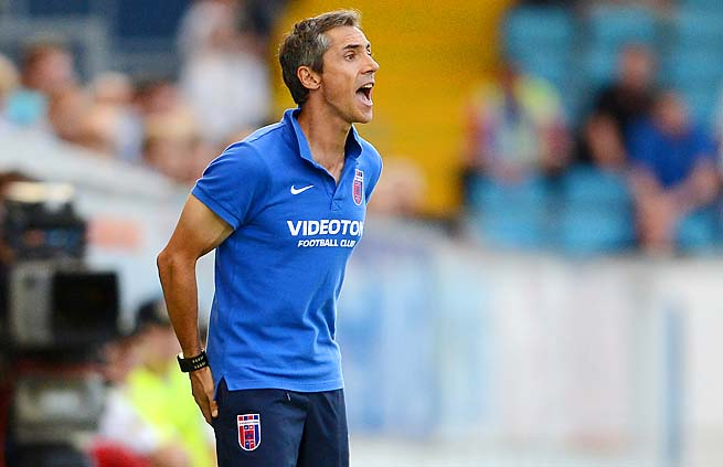 Paulo Sousa managed Videoton in Hungary from 2011 to this year.