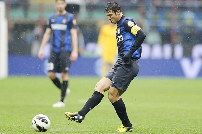 Javier Zanetti has made more than 600 appearances with Inter Milan since 2005.