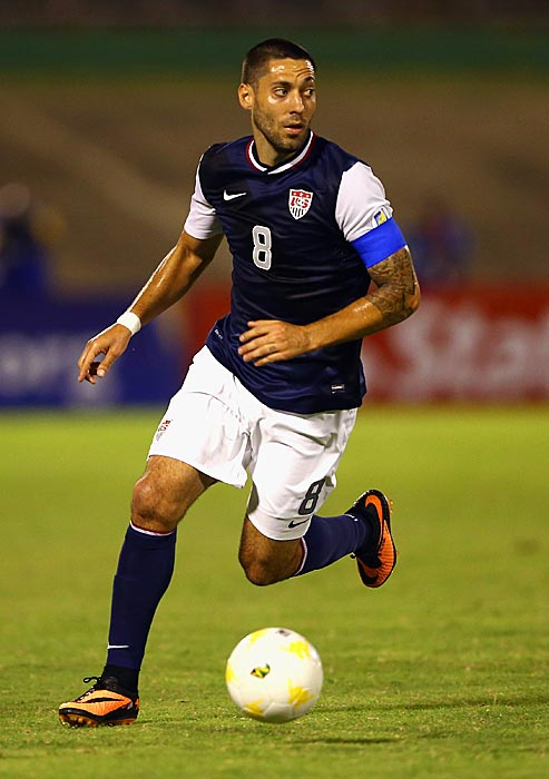 With long-time captain Carlos Bocanegra currently out of the mix for head coach Jurgen Klinsmann, the United States boss recently appointed the captain's armband to Dempsey, who led the U.S. to a 2-1 road victory over Jamaica in a 2014 World Cup Qualifier.