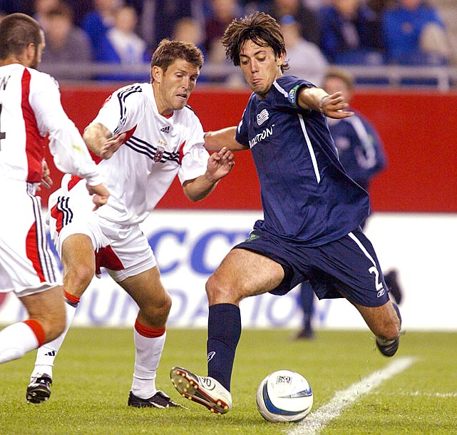Dempsey, a product of Furman University, started 23 of 24 games for the New England Revolution in his rookie campaign and found the back of the net seven times.