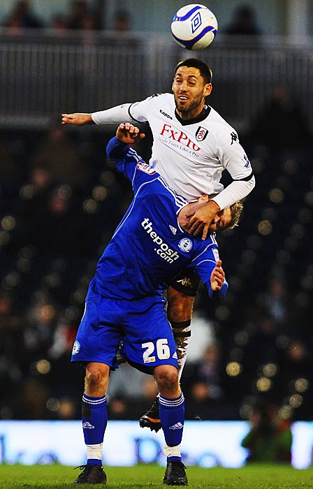 Dempsey surpassed the double-digit scoring mark for the first time in his career, netting 12 times for Fulham in the Premier League in the 2010-2011 EPL season.