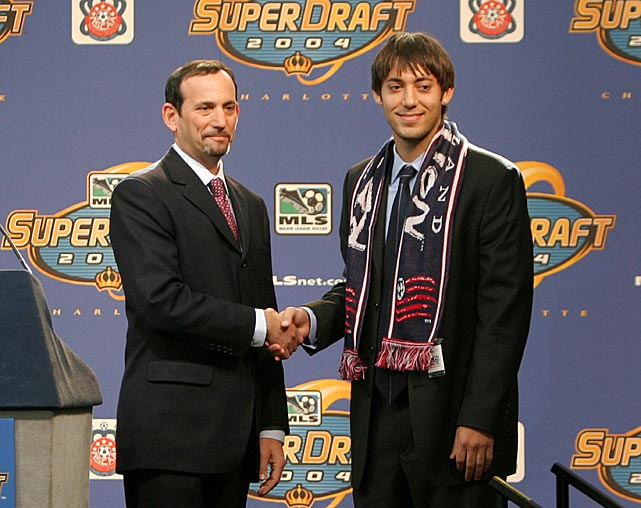 Clint Dempsey was drafted by the New England Revolution