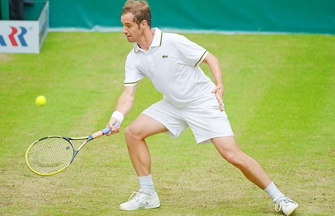 Richard Gasquet made the Wimbledon semifinals in 2007 but hasn't been past the fourth round since.