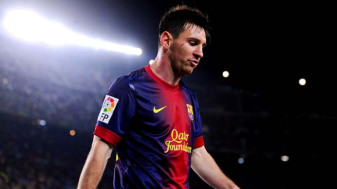 Lionel Messi is the four-time reigning FIFA world player of the year.