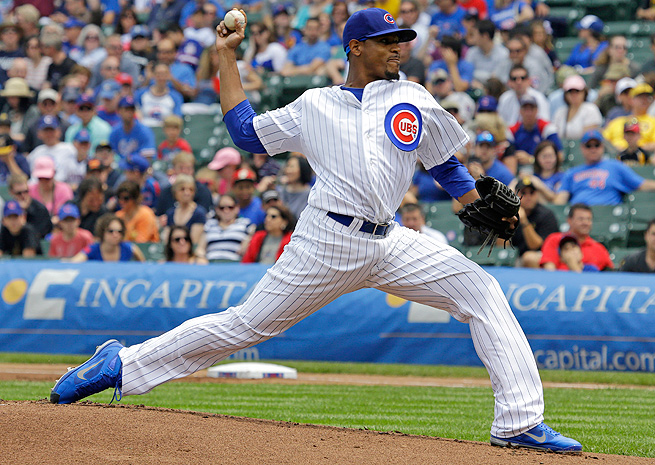 Edwin Jackson's high ERA is bound to come down based on his below-average strand rate percentage.