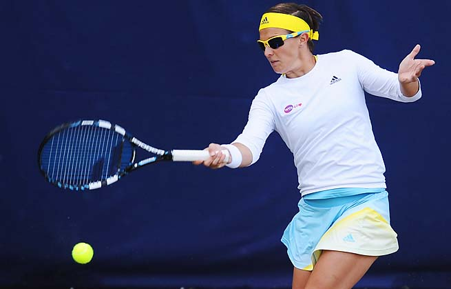 Kirsten Flipkens' best Wimbledon result was making the third round in 2009.