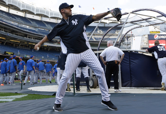 An ankle injury suffered last postseason has kept Derek Jeter out for the entire 2013 season.