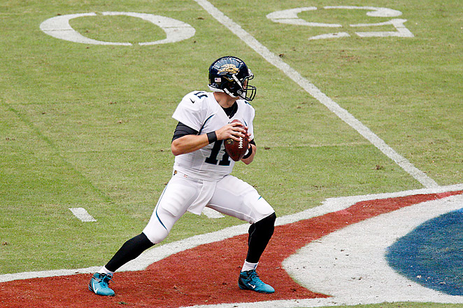 Blaine Gabbert is up against Chad Henne, Matt Scott and Mike Kafka for the starting job.