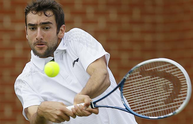 Marin Cilic has never made it past the fourth round of Wimbledon.