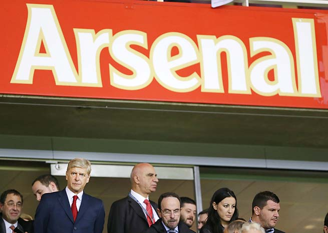 Arsenal was fifth in the EPL last season, edging Tottenham by one point.