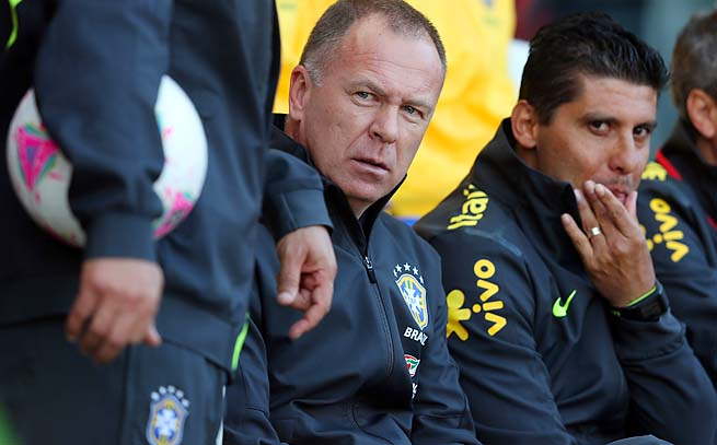 Mano Menezes was replaced as Brazil coach by Luiz Felipe Scolari.