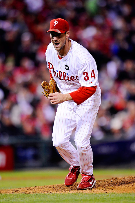 Lee carried the Phillies to the World Series in 2009 with a 1.56 postseason ERA.