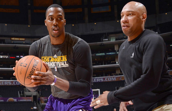 Dwight Howard, who the Hawks could pursue in free agency, was coached by Darvin Ham in '12.