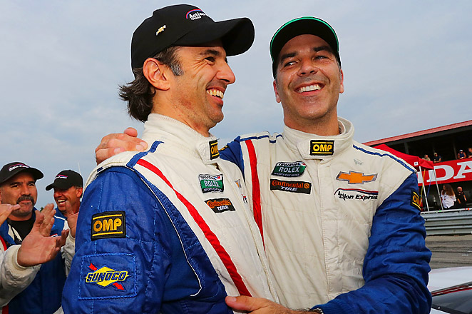 Christian Fittipaldi and Joao Barbosa teamed for their first Rolex Sports Car Series win of the year.