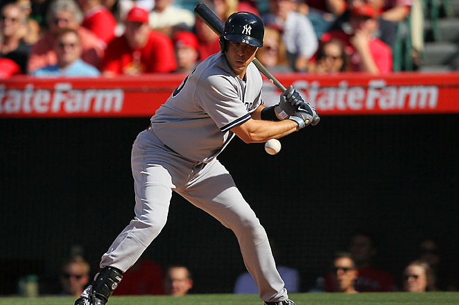 Teixeira left the Yankees' 6-2 loss to the Los Angeles Angels on Saturday in the fourth inning.