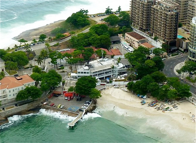 ESPN announced that its production headquarters will be set at Clube dos Marimbás in Rio de Janiero.