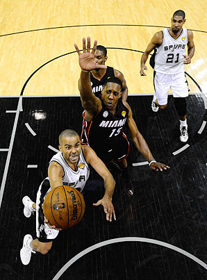 Tony Parker and the Spurs will look to close out the Heat as efficiently as they did the Lakers, Warriors and Grizzlies.