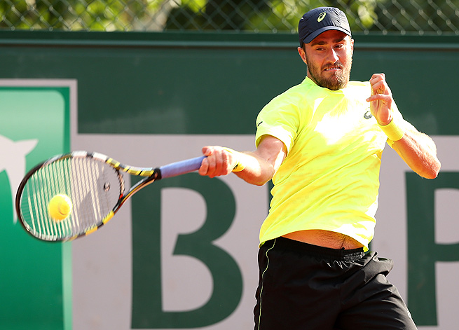 U.S.' Steve Johnson won the ATP Challenger title at Nottingham last week to earn his Wimbledon wild card.
