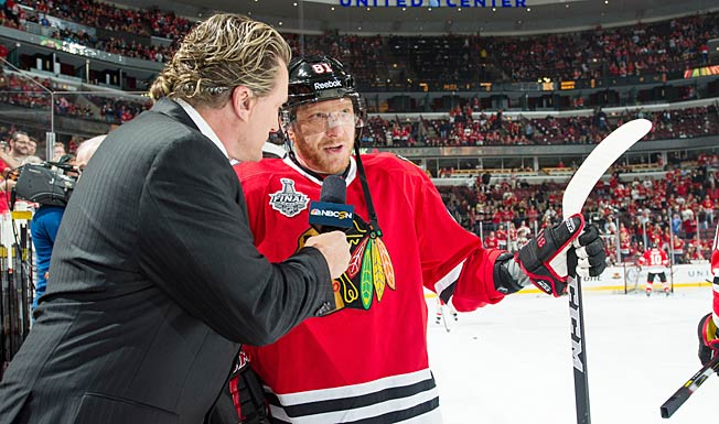 Don't expect Marian Hossa, or any NHLer, to reveal particulars about a postseason injury.
