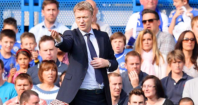 David Moyes is taking over Manchester United for the retired Alex Ferguson.