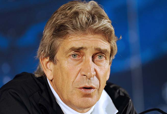 Manchester City hopes Manuel Pellegrini can boost its performance in the Champions League.