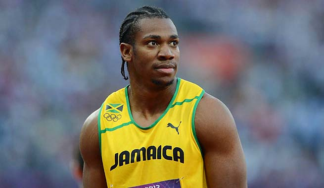 Yohan Blake won silver behind Usain Bolt in the 100 and 200 at the 2012 Olympics.