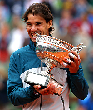 Even after just winning the French Open, Rafael Nadal was seeded fifth for Wimbledon.