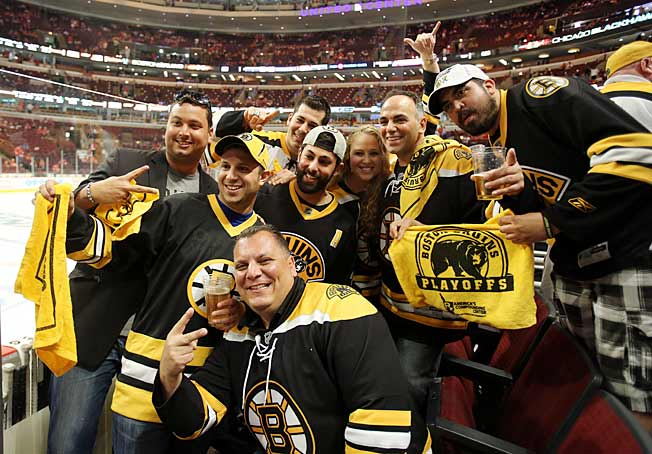 With their team two wins away from the Stanley Cup, Bruins fans have plenty to smile about.