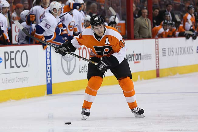 Daniel Briere, who scored six goals this season, signed an eight-year, $52 million deal in 2007.