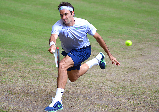 Roger Federer will likely have to get past Rafael Nadal in the quarterfinals to defend his Wimbledon title.