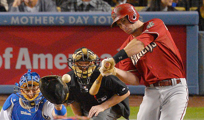 Arizona's Paul Goldschmidt is third in the NL with 17 home runs and first with 62 RBIs.