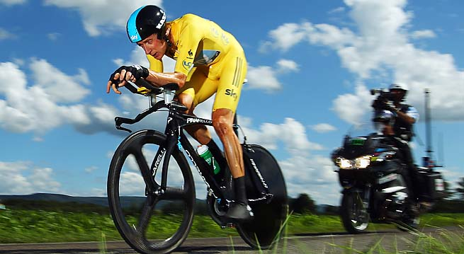 Bradley Wiggins became the first Brit to win the Tour de France last year.