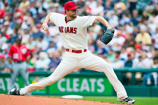 Cleveland's Corey Kluber has a sparkling 5.42 K/BB ratio and is worth owning beyond this weekend.