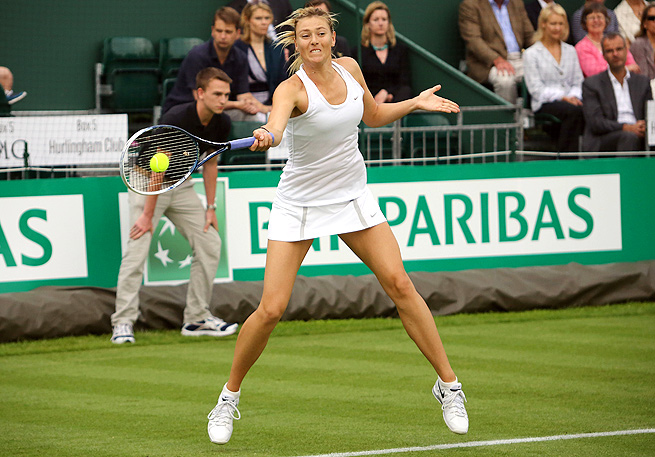 Maria Sharapova, the 2004 Wimbledon champion, is coming off a run to the French Open final.