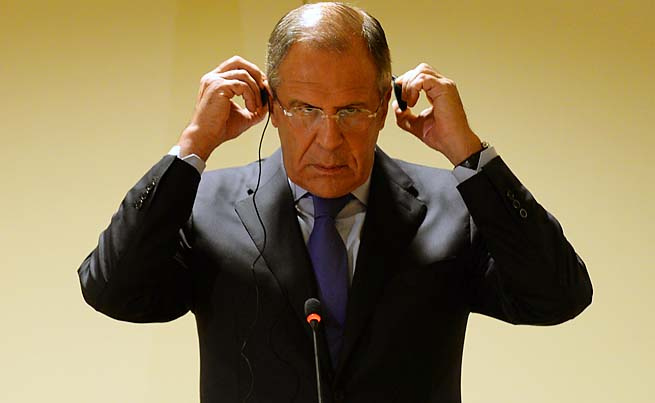 Sergey Lavrov said Russian security agencies have become efficient in fighting militants.