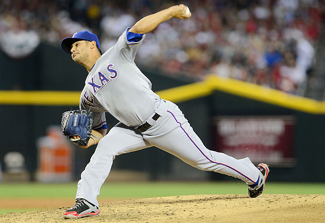 Martin Perez made one start in May, taking the loss giving up four runs in 5 1/3 innings.